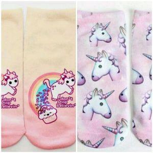 Accessories - 🎀3/$22🎀 Unicorn Socks 🦄